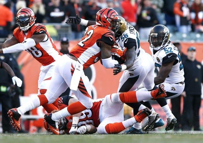 Jacksonville Jaguars vs. Cincinnati Bengals - 8/28/16 NFL Pick, Odds, and Prediction