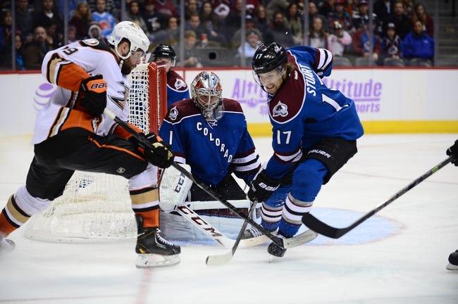 Anaheim Ducks vs. Colorado Avalanche - 3/20/15 NHL Pick, Odds, and Prediction