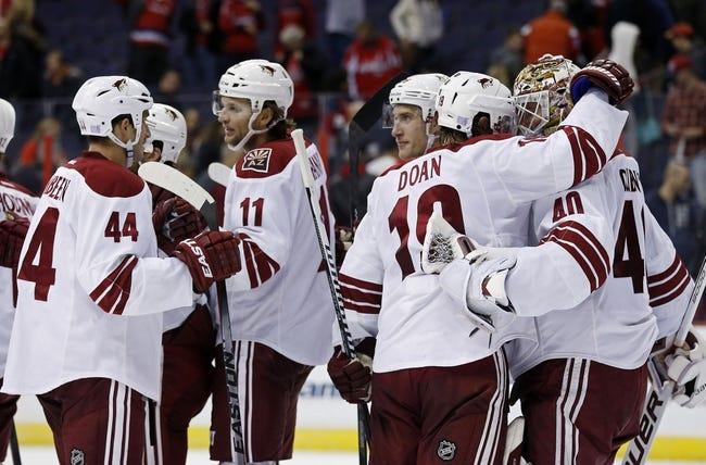 Arizona Coyotes vs. Washington Capitals - 11/18/14 NHL Pick, Odds, and Prediction