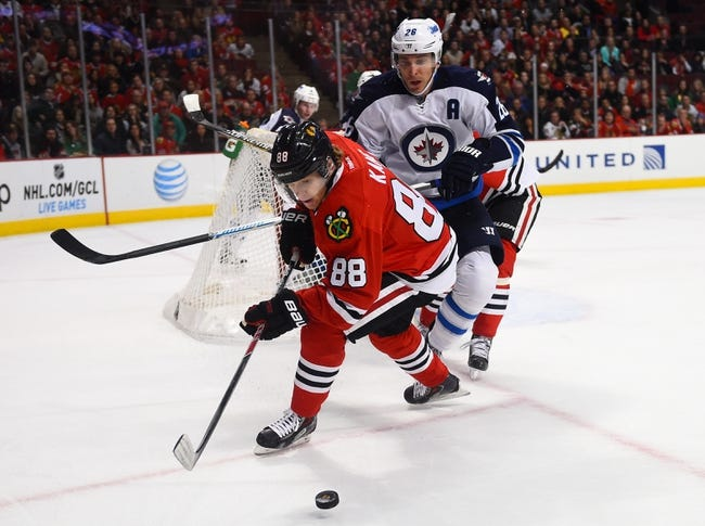 Chicago Blackhawks vs. Winnipeg Jets - 12/23/14 NHL Pick, Odds, and Prediction