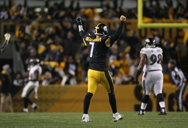 Baltimore Ravens at Pittsburgh Steelers - 1/3/15 NFL Pick, Odds, and Prediction