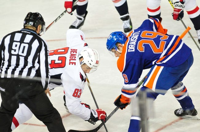 Capitals vs. Oilers - 1/20/15 NHL Pick, Odds, and Prediction