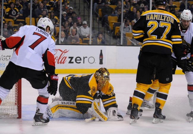 Bruins vs. Senators - 12/13/14 NHL Pick, Odds, and Prediction