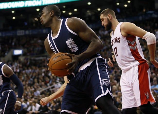 Oklahoma City Thunder vs. Toronto Raptors - 3/8/15 NBA Pick, Odds, and Prediction