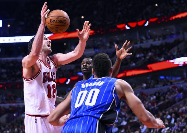 Chicago Bulls vs. Orlando Magic - 1/12/15 NBA Pick, Odds, and Prediction
