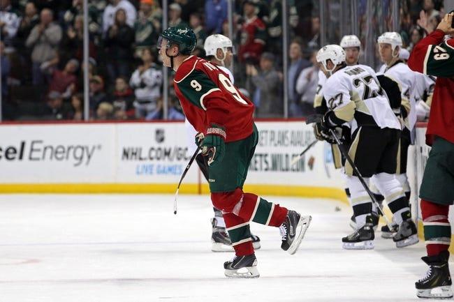 NHL   Minnesota Wild (18-18-5) at Pittsburgh Penguins (25-10-6)