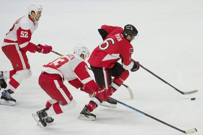 Red Wings vs. Senators - 11/24/14 NHL Pick, Odds, and Prediction
