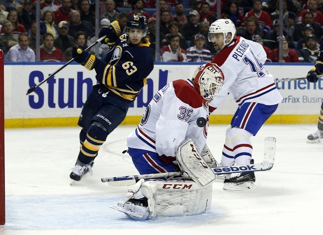 Sabres vs. Canadiens - 11/28/14 NHL Pick, Odds, and Prediction