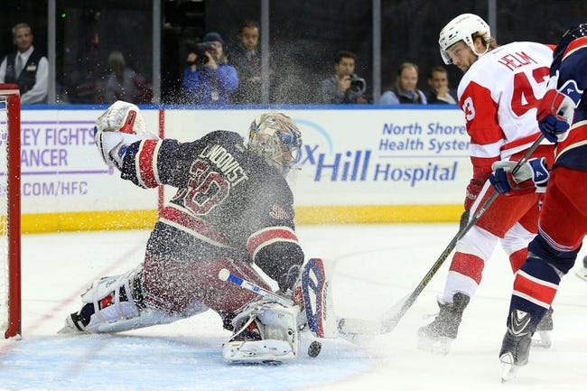 Detroit Red Wings vs. New York Rangers - 12/6/14 NHL Pick, Odds, and Prediction
