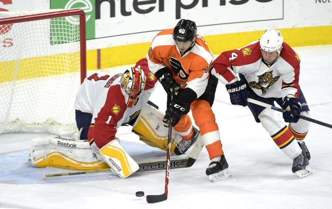 Flyers vs. Panthers - 12/18/14 NHL Pick, Odds, and Prediction