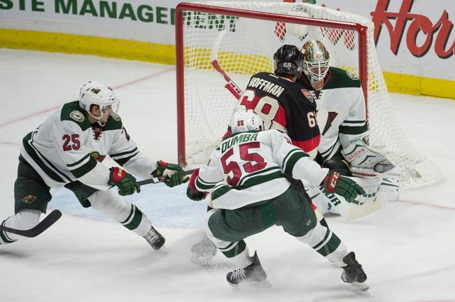 Minnesota Wild vs. Ottawa Senators - 3/3/15 NHL Pick, Odds, and Prediction