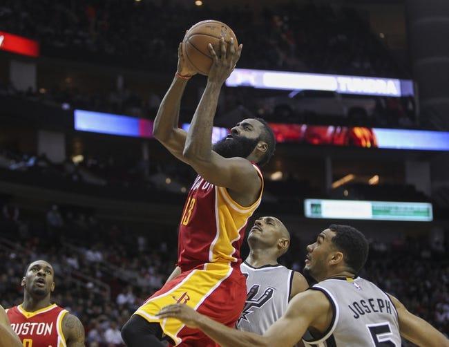 San Antonio Spurs vs. Houston Rockets - 12/28/14 NBA Pick, Odds, and Prediction