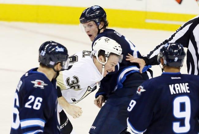 Penguins vs. Jets - 1/27/15 NHL Pick, Odds, and Prediction
