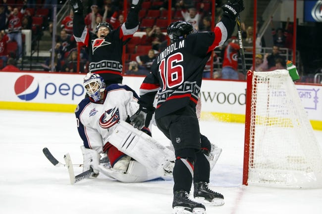 Hurricanes vs. Blue Jackets - 3/10/15 NHL Pick, Odds, and Prediction