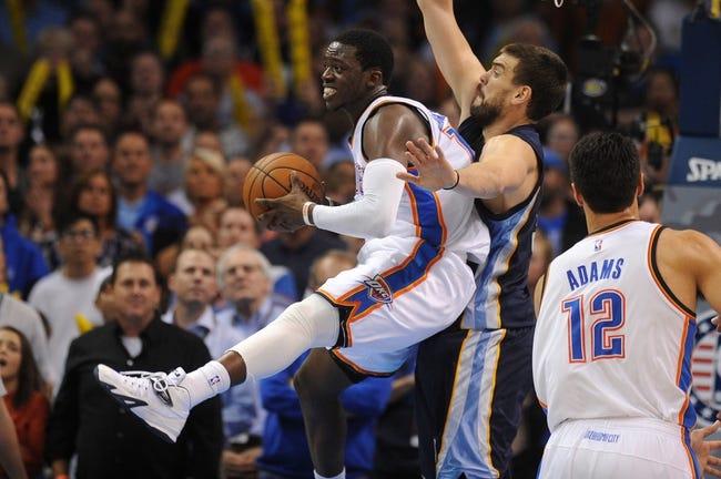 Grizzlies vs. Thunder - 1/31/15 NBA Pick, Odds, and Prediction