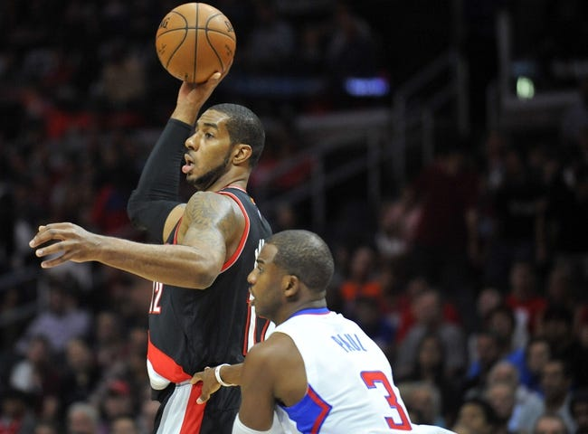 Trail Blazers vs. Hornets - 11/11/14 NBA Pick, Odds, and Prediction
