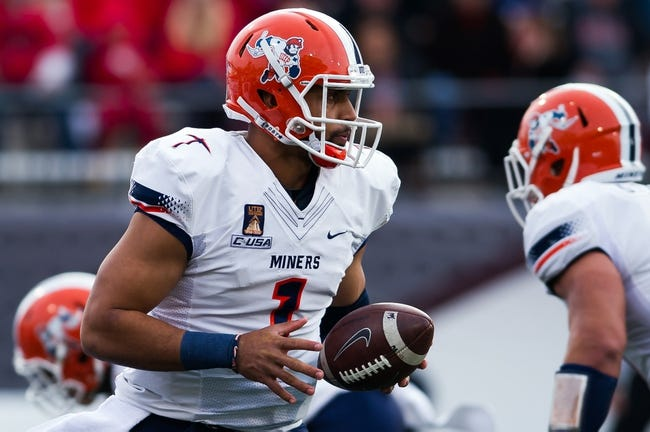 Gildan New Mexico Bowl: UTEP vs. Utah State - 12/20/14 College Football Pick, Odds, and Prediction