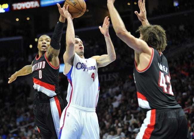 Portland Trail Blazers vs. Los Angeles Clippers - 1/14/15 NBA Pick, Odds, and Prediction