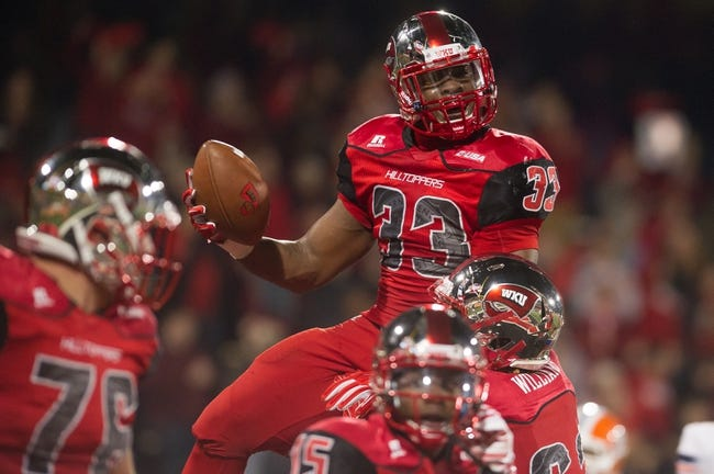 Western Kentucky Hilltoppers vs. UTSA Roadrunners - 11/22/14 College Football Pick, Odds, and Prediction