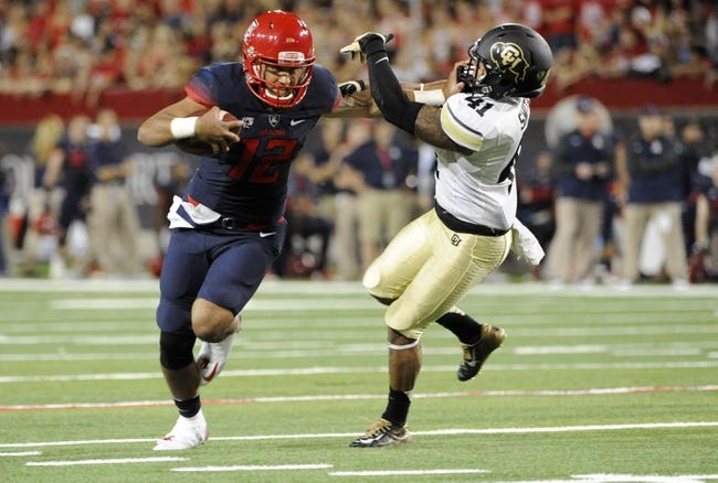 Arizona vs. Washington - 11/15/14 College Football Pick, Odds, and Prediction