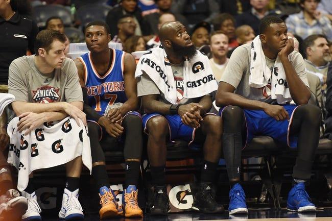 Knicks vs. Hawks - 11/10/14 NBA Pick, Odds, and Prediction