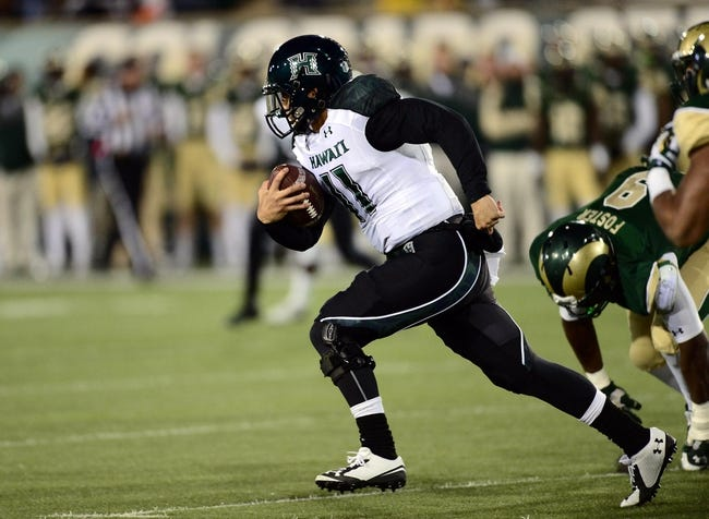 San Jose State Spartans vs. Hawaii Warriors - 11/15/14 College Football Pick, Odds, and Prediction