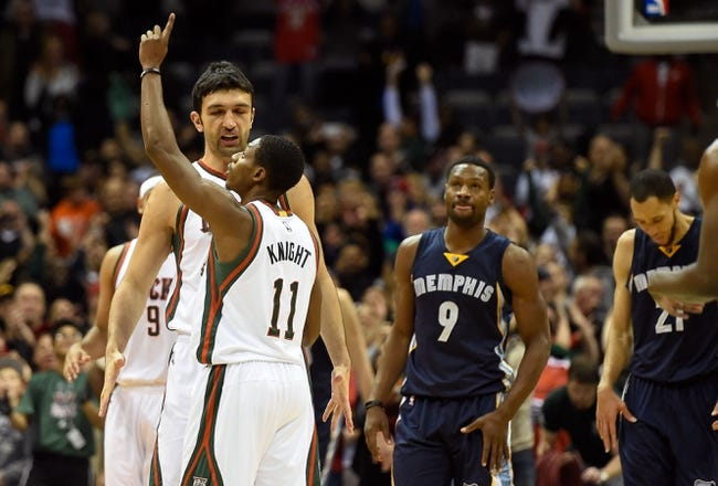 Grizzlies vs. Bucks - 3/14/15 NBA Pick, Odds, and Prediction