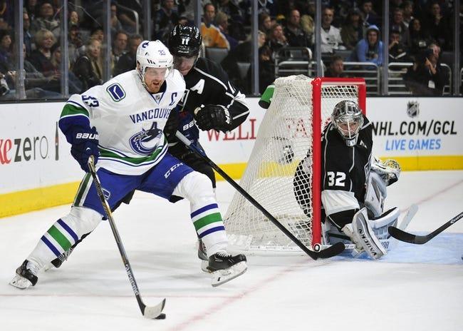 Canucks vs. Kings - 1/1/15 NHL Pick, Odds, and Prediction