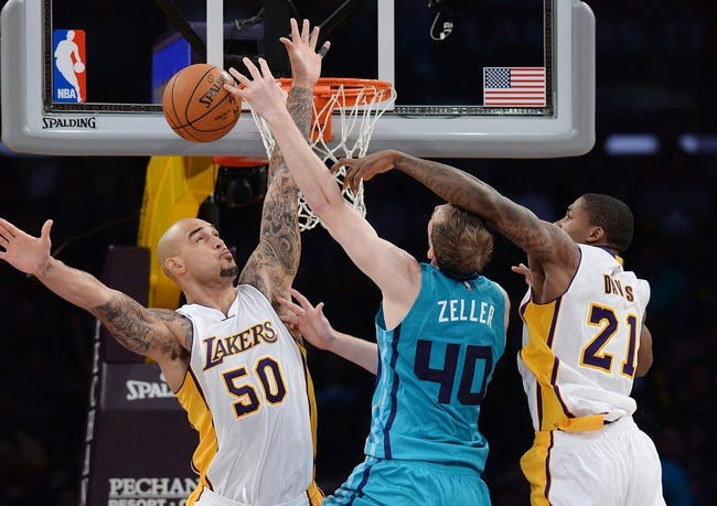 Charlotte Hornets vs. Los Angeles Lakers - 3/3/15 NBA Pick, Odds, and Prediction