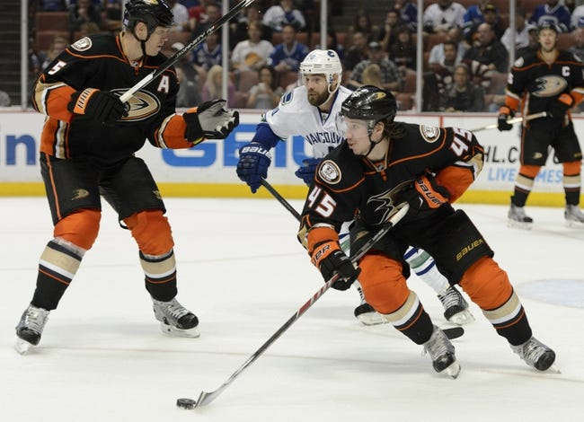 NHL | Anaheim Ducks (11-4-5) at Vancouver Canucks (12-6-0)
