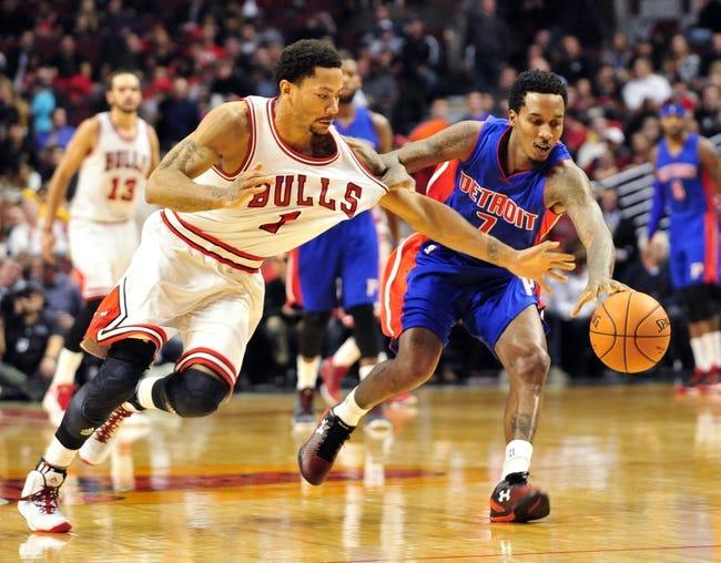 Pistons vs. Bulls - 2/20/15 NBA Pick, Odds, and Prediction