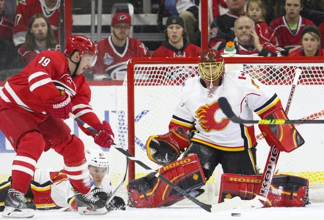 Hurricanes vs. Flames - 1/24/16 NHL Pick, Odds, and Prediction