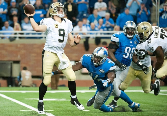 Saints vs. Lions - 12/21/15 NFL Pick, Odds, and Prediction