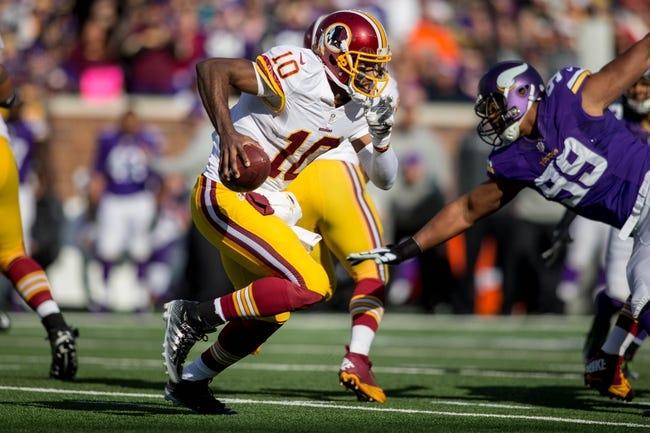 Redskins vs. Buccaneers - 11/16/14 NFL Pick, Odds, and Prediction