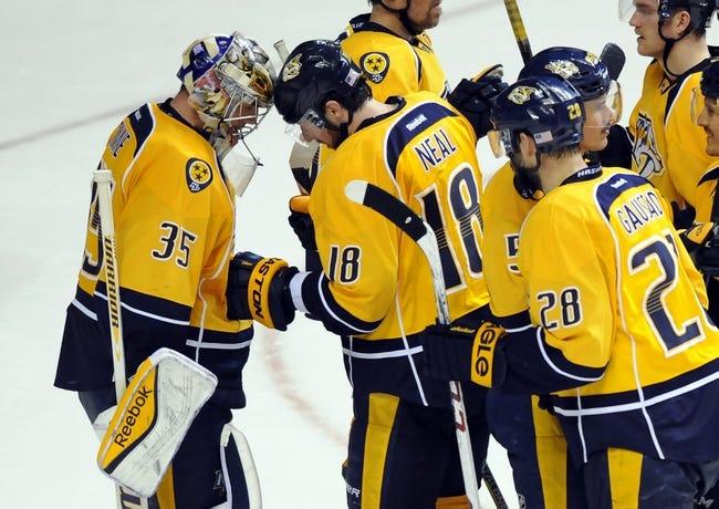 Nashville Predators vs. Edmonton Oilers - 11/27/14 NHL Pick, Odds, and Prediction