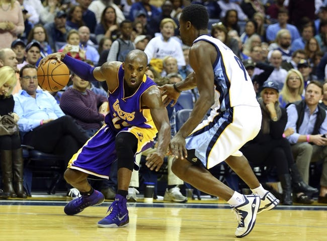 Los Angeles Lakers vs. Memphis Grizzlies - 11/26/14 NBA Pick, Odds, and Prediction