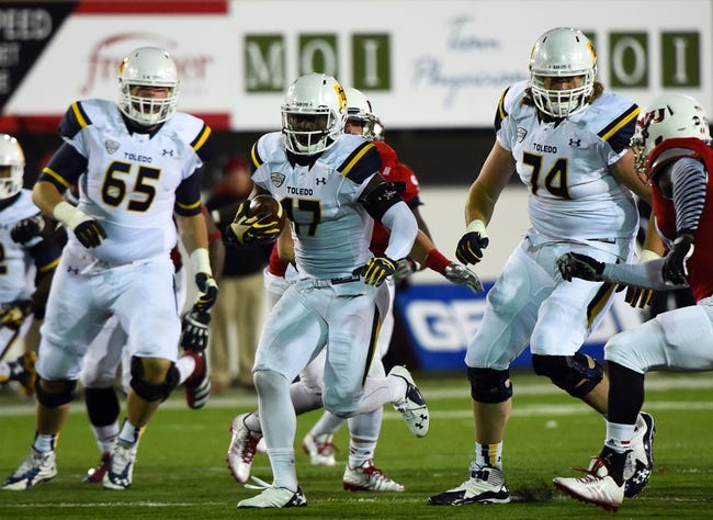 Toledo vs. Arkansas State GoDaddy Bowl - 1/4/15 College Football Pick, Odds, and Prediction