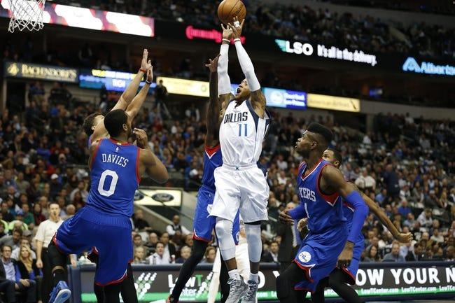 76ers vs. Mavericks - 11/29/14 NBA Pick, Odds, and Prediction