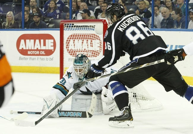San Jose Sharks vs. Tampa Bay Lightning - 2/15/15 NHL Pick, Odds, and Prediction