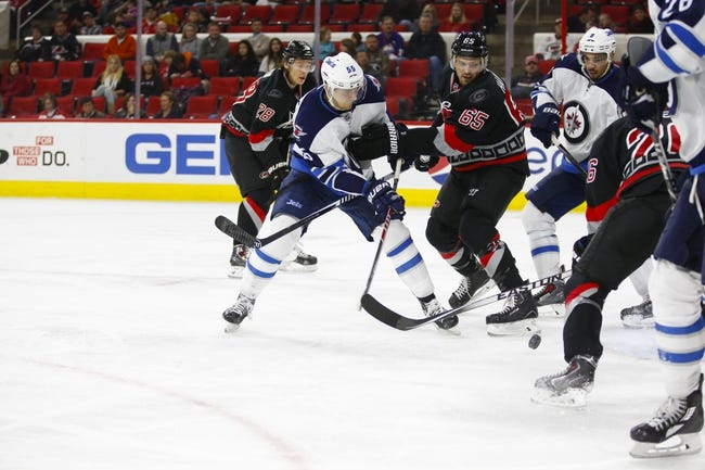 Jets vs. Hurricanes - 2/5/16 NHL Pick, Odds, and Prediction