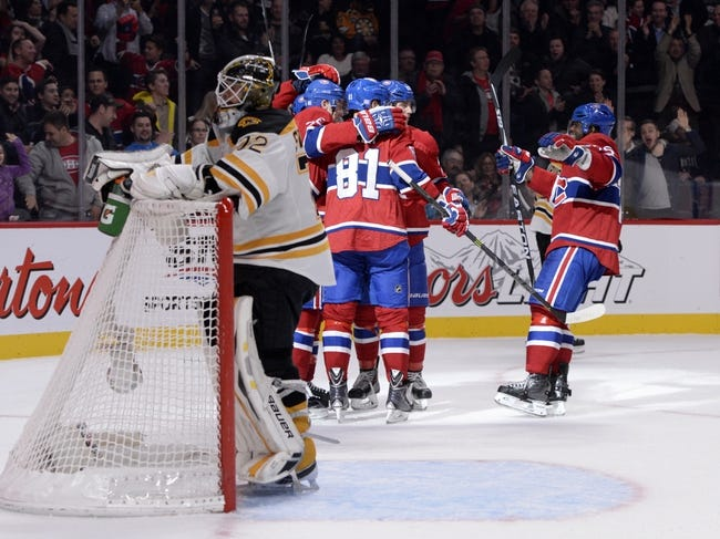 Bruins vs. Canadiens - 11/22/14 NHL Pick, Odds, and Prediction