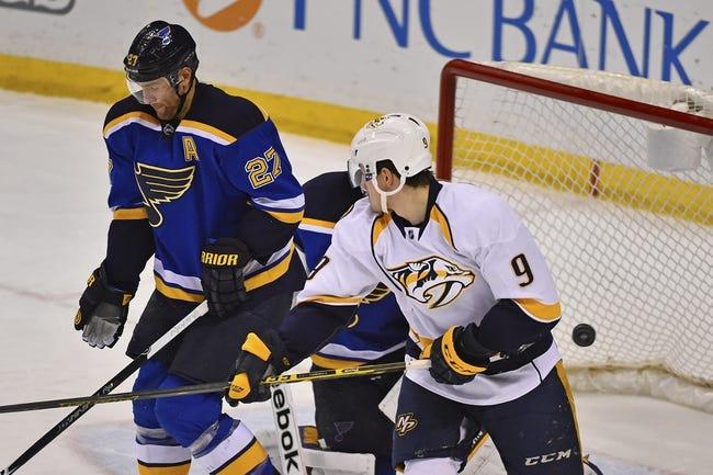 Predators vs. Blues - 12/4/14 NHL Pick, Odds, and Prediction
