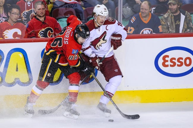 NHL | Calgary Flames (14-8-2) at Arizona Coyotes (9-11-3)