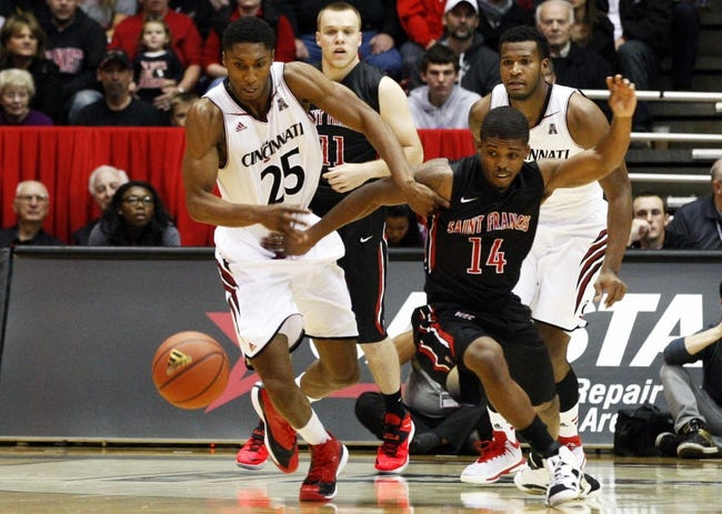 Cincinnati vs. Morehead State - 11/19/14 College Basketball Pick, Odds, and Prediction