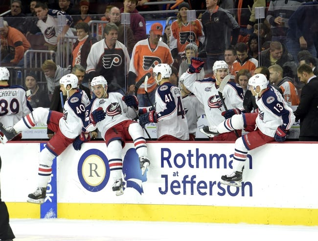 Flyers vs. Blue Jackets - 11/22/14 NHL Pick, Odds, and Prediction