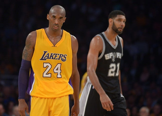 Spurs vs. Lakers - 2/6/16 NBA Pick, Odds, and Prediction