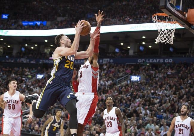 Jazz vs. Raptors - 12/3/14 NBA Pick, Odds, and Prediction