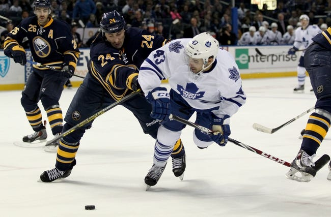 NHL | Buffalo Sabres (19-42-5) at Toronto Maple Leafs (26-35-6)