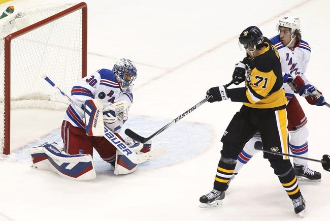 New York Rangers vs. Pittsburgh Penguins - 12/8/14 NHL Pick, Odds, and Prediction