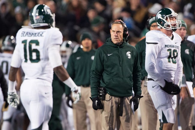 Michigan State vs. Rutgers - 11/22/14 College Football Pick, Odds, and Prediction